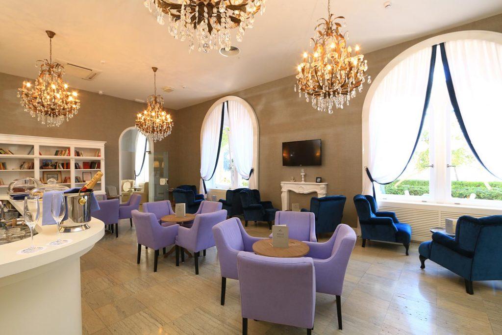 Café in Hotel Korcula