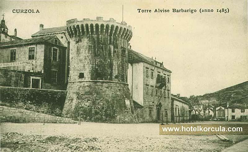 Hotel Korcula De La Ville before 1912