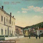 Postcard from Korcula Hotel De La Ville from 1916