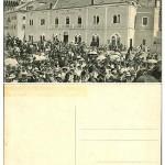 Postcard from Korcula Hotel De La Ville from 1920s